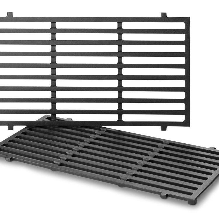 weber grillrost set spirit 200 serie ab 2013 gusseisern emailliert 2 teilig grillmarkt. Black Bedroom Furniture Sets. Home Design Ideas