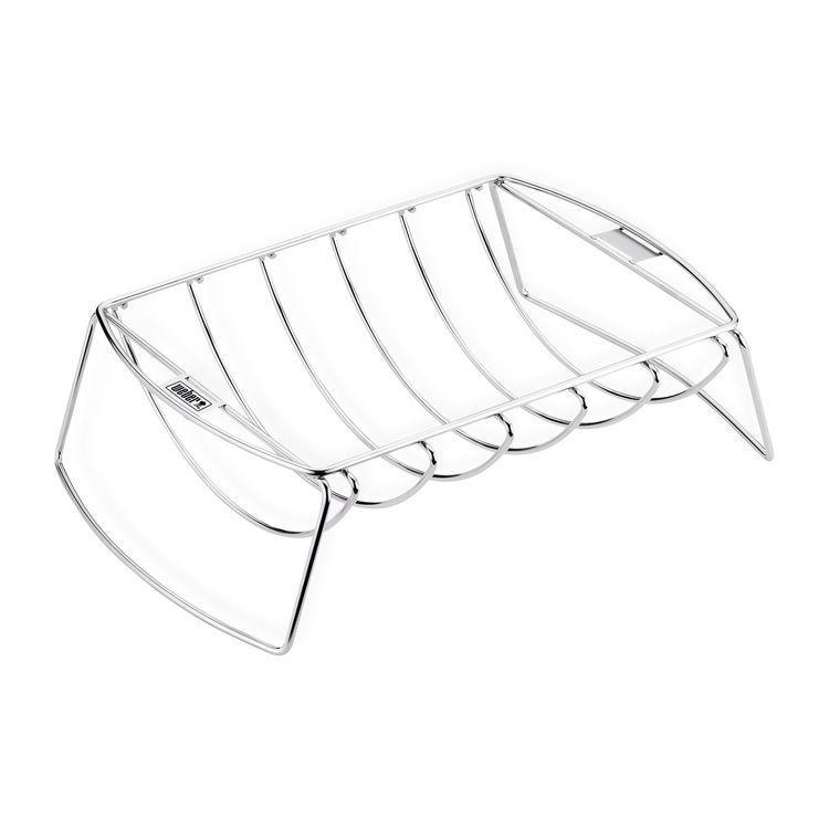 weber spare rib halter bratenkorb grillmarkt radebeul. Black Bedroom Furniture Sets. Home Design Ideas