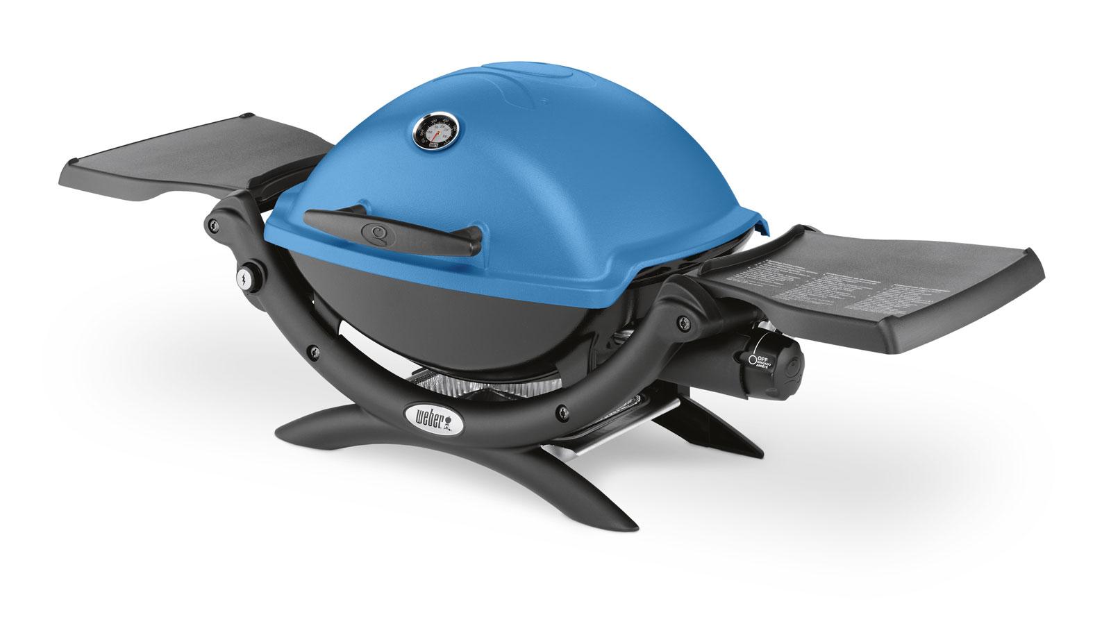 Weber Holzkohlegrill Anfeuern : Weber q™ blue blau grillmarkt radebeul