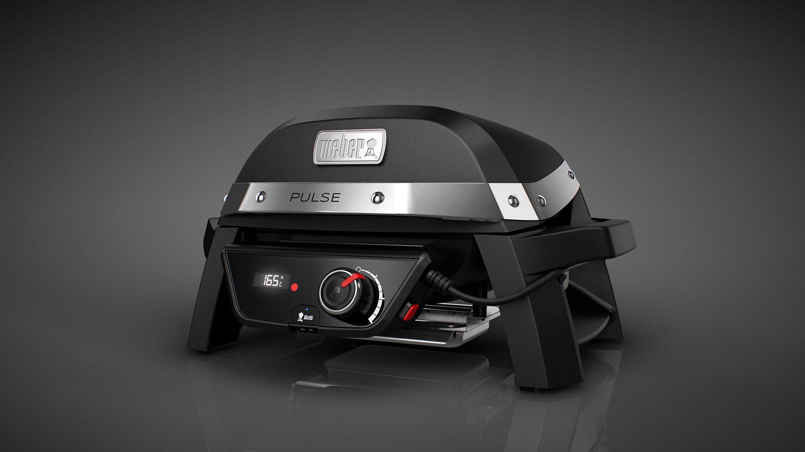 weber pulse 1000 elektrogrill grillmarkt radebeul. Black Bedroom Furniture Sets. Home Design Ideas