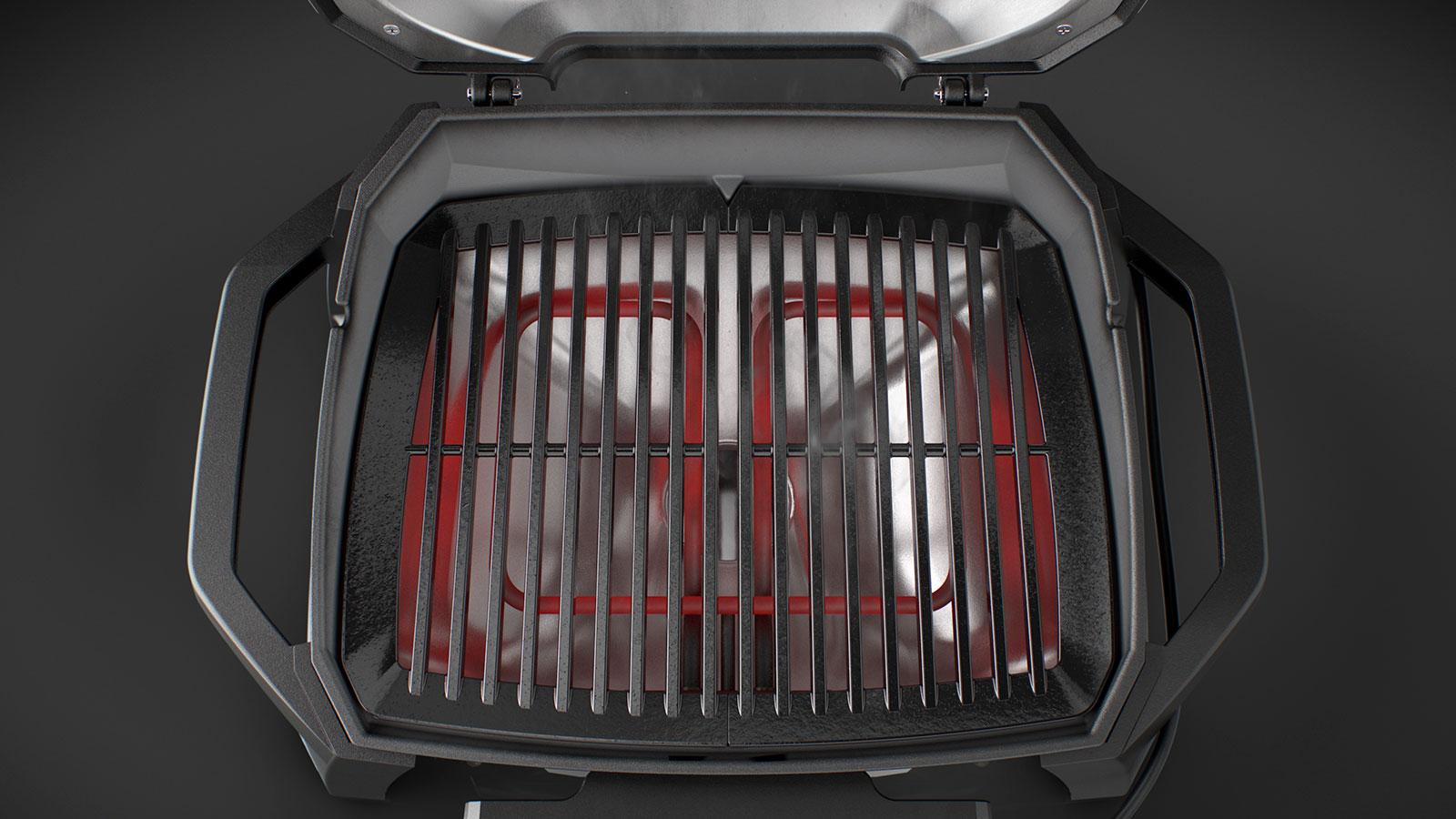 Weber Elektrogrill Pulse 1000 : Weber pulse stand elektrogrill grillmarkt radebeul