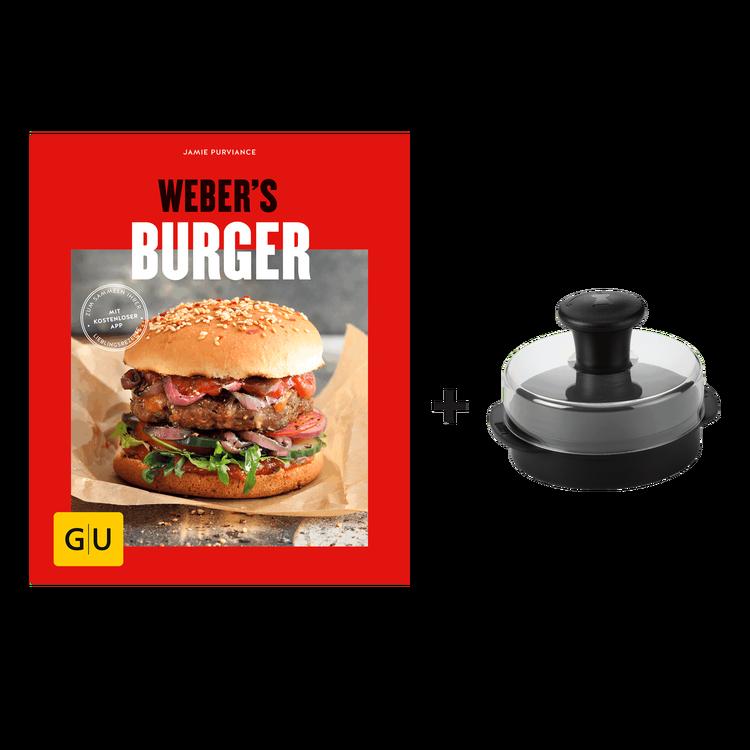 burger set buch webers burger und gro e weber burgerpresse grillmarkt radebeul. Black Bedroom Furniture Sets. Home Design Ideas